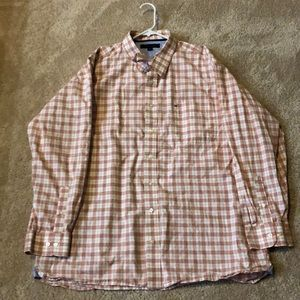 Tommy Hilfiger 2X long sleeve button up shirt